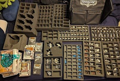 Huge Retribution of Scyrah Lot with Battlefoam case and extra foam!