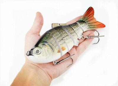 20 cm 115g Multi Jointed Fishing Lures 8 Segments Swimbait Lifelike Hard Bait