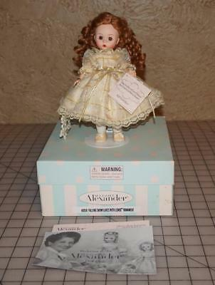"Madame Alexander 8"" Doll Falling Snowflakes With Lenox Ornament 40050"
