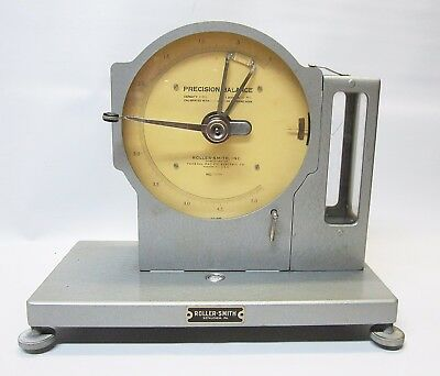 Vintage Federal Pacific Roller -Smith Precision Balance 5mg With Case