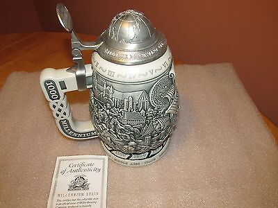 Miller Brewing Company MILLENNIUM STEIN Numbered 6888 with COA NEW IN BOX