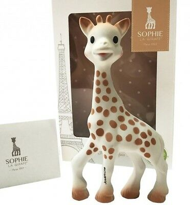 SOPHIE the GIRAFFE -  Latest  2017  Packaging Baby Teether  - 100% Genuine *NEW*