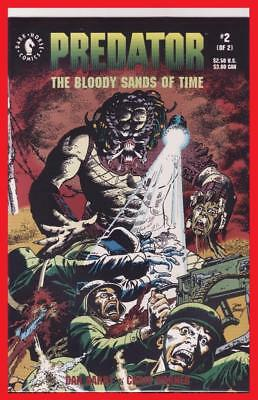 Predator The Bloody Sands Of Time #2 Very Fine/near Mint From Dark Horse Comics!