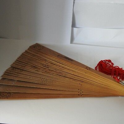 Chinese Wooden hand  fan