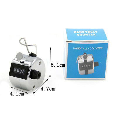 High Quality Hand Held Clickers - Chrome number people Tally Counter FPLA