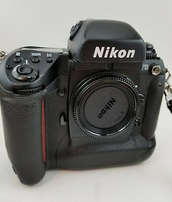 Nikon F5 Professional 35mm Film SLR Camera Body