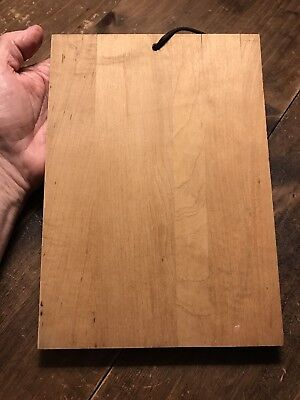 Wolfschmidt Genuine Vodka Wooden Plaque Cutting Board