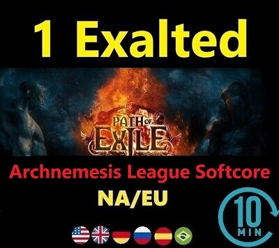 1 x Exalted Orb - Bestiary League NA/EU - Path of Exile: POE Softcore Exalt Orbs