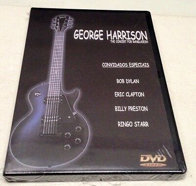 GEORGE HARRISON - BEATLES - THE CONCERT for BANGLADESH - DVD ALL - Sealed Mint