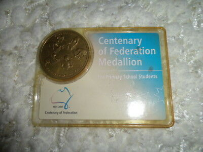 Collectable Medallion Centenary of Federation. [2001]