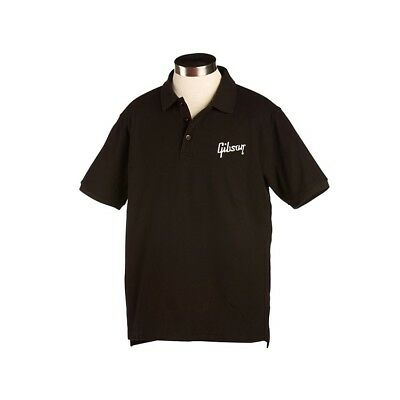 "Gibson Mens Polo ""Gibson Logo"" Large"