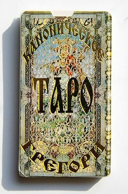 Sale! Canonical Gregory Major Arcana 22 cards deck Tarot Unboxed+manual Russian