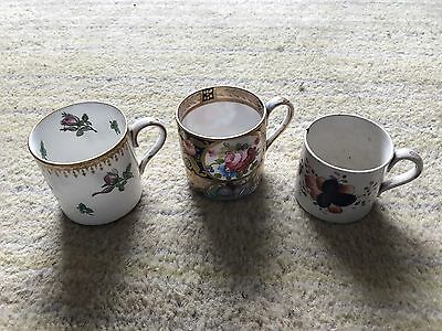 Old Antique Tea Cups Staffordshire Ware. Very Rare