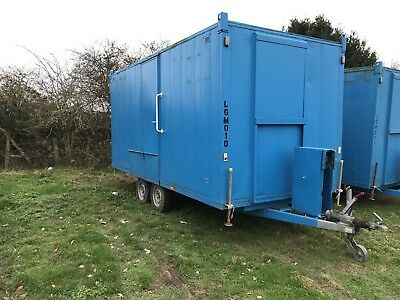 16 Mobile Welfare Units, towable Welfare unit,site office, glamping, portable