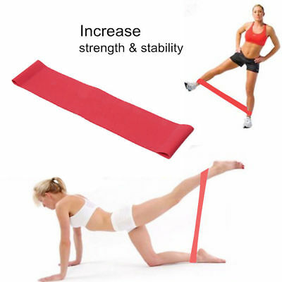 Elastic Resistance Band Loop Stretch Closed Loop Home GYM Fitness Exercise