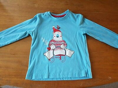 Boys long sleeved Christmas T-shirt 18 months - 2 years