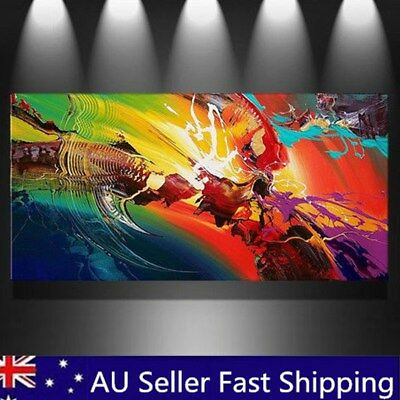 HUGE Unframed Abstract Canvas Print Wall Art Painting Pictures Home Room Decor