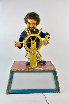 * Automata, Capitain Of Boat. Middles Xx Century.