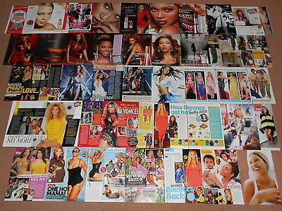 230- BEYONCE KNOWLES Magazine Clippings