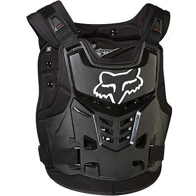 NEW FOX RACING PROFRAME Adult Body Armour BLACK Chest Protector Motocross Moto