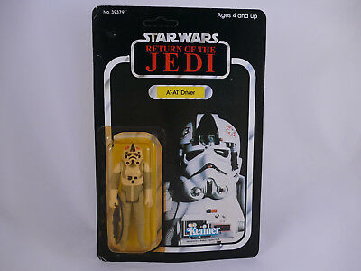 Star Wars Vintage At-At Driver Rotj 77 Back 1983 Moc
