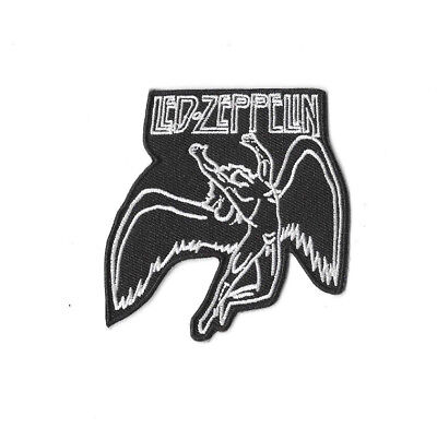 LED ZEPPELIN ANGEL Iron on / Sew on Patch Embroidered Badge Music PT264