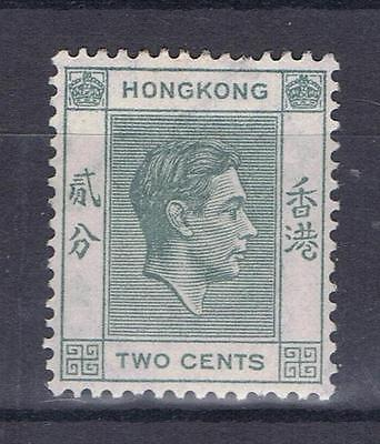 Hong Kong 1938 1952 King George VI Two cent  Definitive SG 141 Mint MH