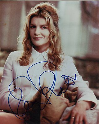Rene Russo Signed 8X10 Color Photo