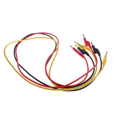 Stackable Banana to Banana Test Leads Probe 15A 1m for Lab test/Multimeter