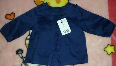 Next outlet brand new baby girl top shirt blouse size:up to 3 months