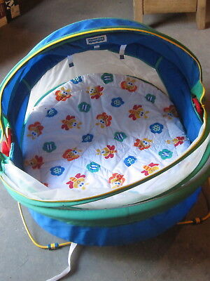 Fisher Price Dome Tent/ Baby/sleep/bed/crib mosquite net with cover