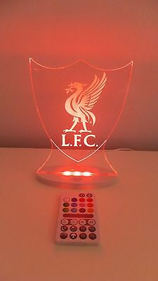 Liverpool LED Light -Official Football Club Merchandise (Christmas, Birthday,)