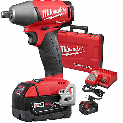 """Milwaukee 2755B-22 M18 FUEL 1/2"""" Impact Wrench Friction Ring Kit New"""