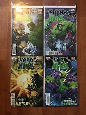 Thanos Vs Hulk issues #1 - #4 (complete s