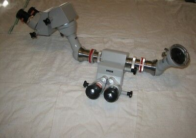 Zeiss Opmi Binocular Heads / 50 T Beam Splitter / (Co)Observation Tubes !cheap!