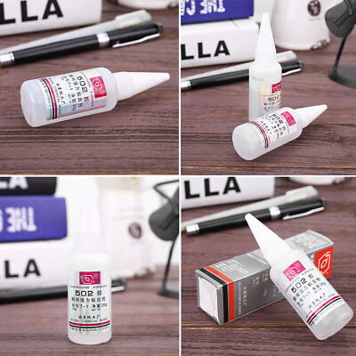 502 Super Glue Adhesive Strong Bond Fast Dry Home For Metal Glass Tool HOT