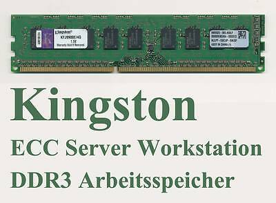 4 GB Kingston KFJ9900E/4G 1333 MHz ECC DDR3 Server RAM Speicher 4096 MB wie NEU