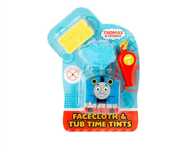New Thomas & Friends Magic Face Cloth & Tub Time Tints With Whistle Ages 3+