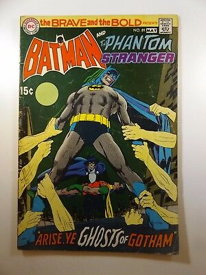 """The Brave and the Bold #89 """"Arise, Ye Ghosts of Gotham!"""" Solid VG- Condition!!"""