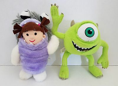 Disney / Pixar Monsters Inc. BOO & MIKEY SOFT TOYS - Fairy Promotional / Promo