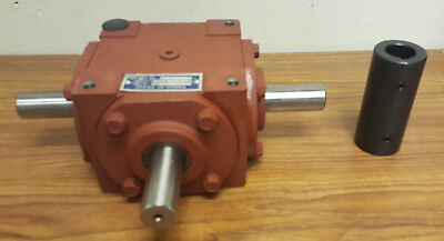 (78701) 13-1423-3K 1:1 32 HP Right-Angle GearBox with 3 Shafts