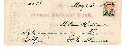1871  Second National Bank, Baltimore, Maryland    Revenue