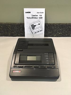 Lanier VW110 REFURBISHED STANDARD Cassette 2 Speed BASE UNIT ONLY 90 DayWarranty