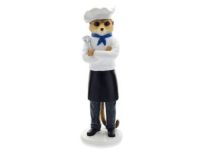 Magnificent Meerkats CA04527 Marco The Chef Figurine Ornament Souvenir Figure