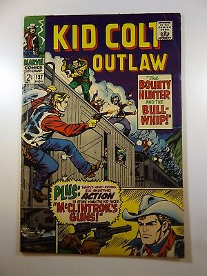 """Kid Colt: Outlaw #137 """"The Bounty Hunter and The Bullwhip!"""" Solid VG Condition!!"""