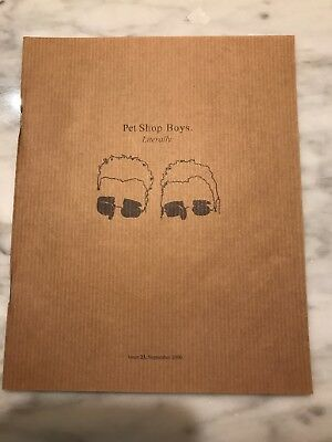 Pet Shop Boys Literally Issue 23