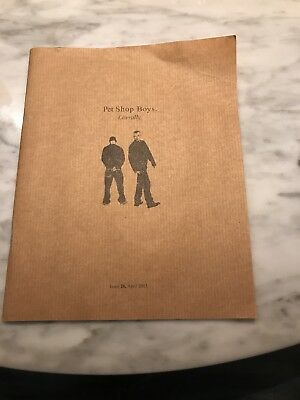 Pet Shop Boys Literally Issue 26