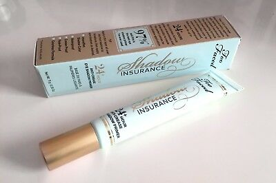Too Faced Shadow Insurance 24h Eyeshadow Primer 11g - NEW BOXED UK 1st Class