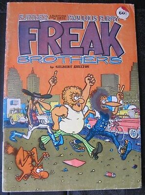 FREAK BROTHERS Adventure 1972 FN GILBERT SHELTON signed 1983 ROP $0 Ship w/trac