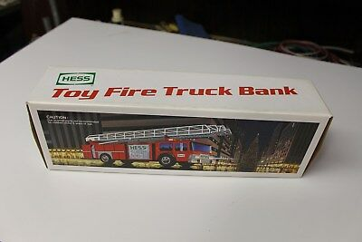 Mint 1986 Hess Fire Truck Super Clean In Box Works Great See My Pictures